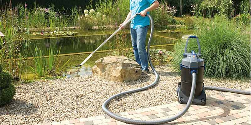 Hydrosphere water gardens spring pond cleaning for Koi pond removal