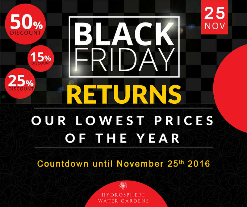 Black Friday Deals on pond supplies