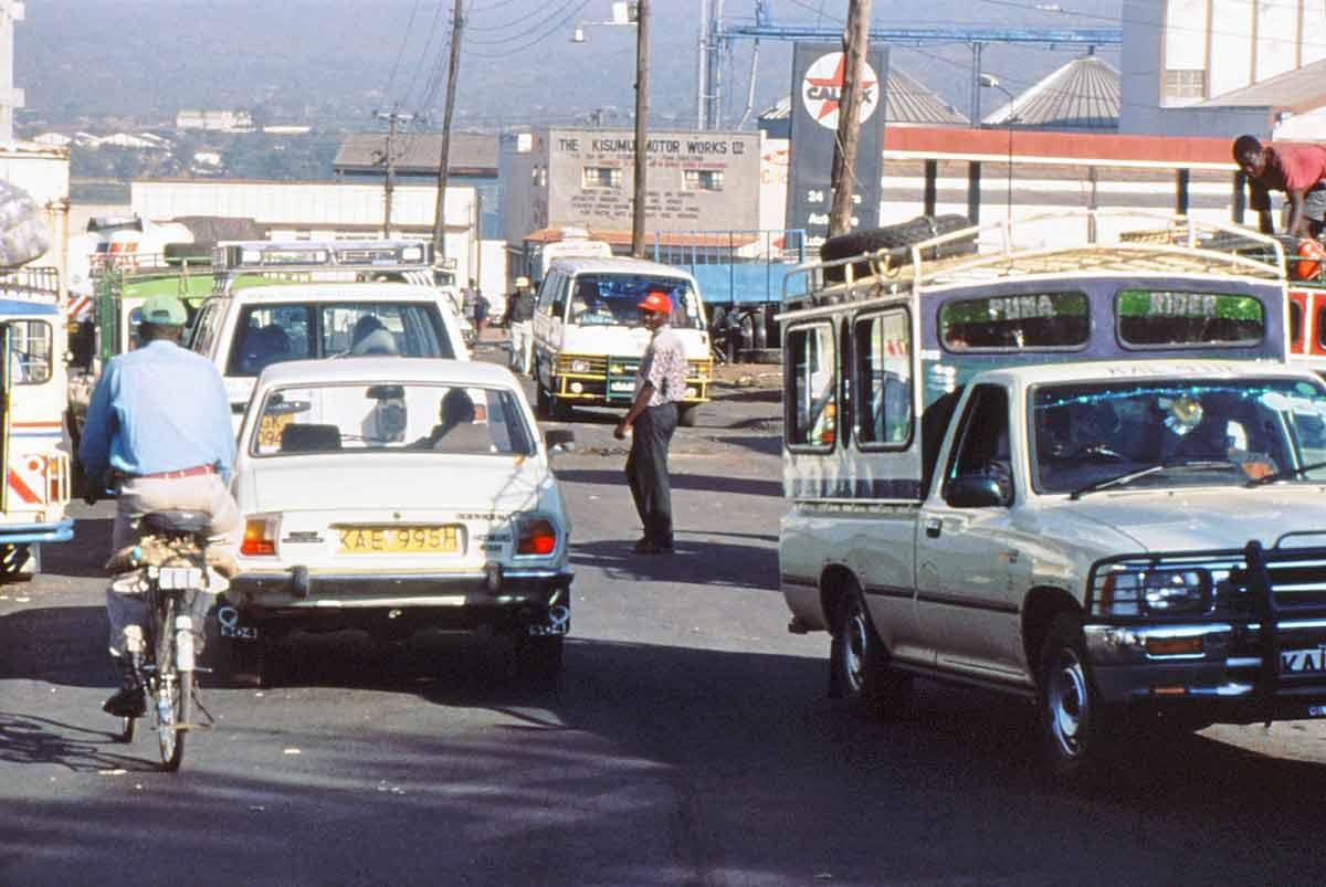 downtown Kisumu