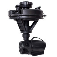 Oase 1/4 hp floating fountain with LED lights