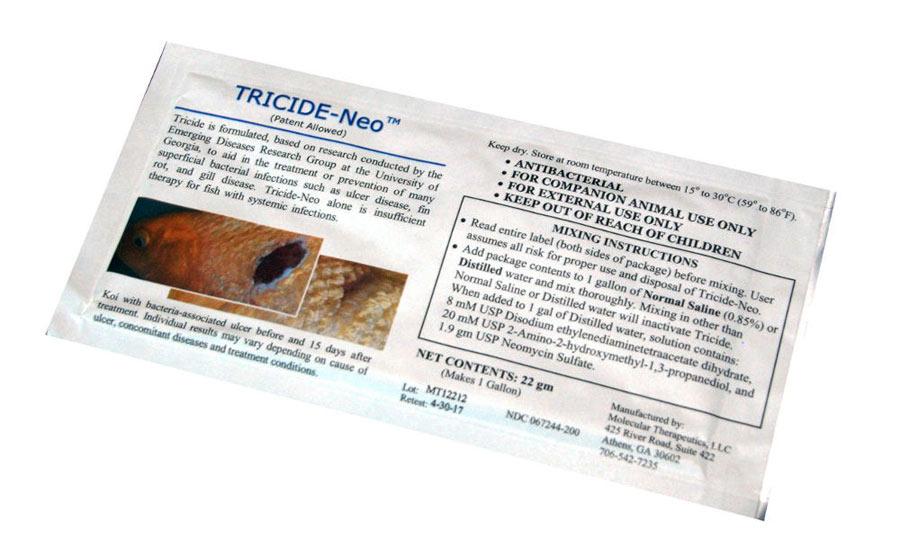 tricide-neo antibiotic ulcer dip