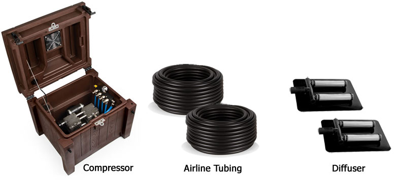 aeration system components