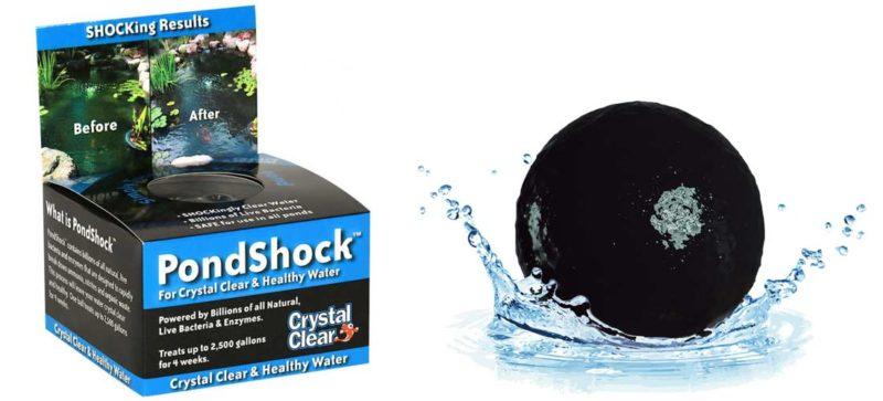 crystalclear pond shock