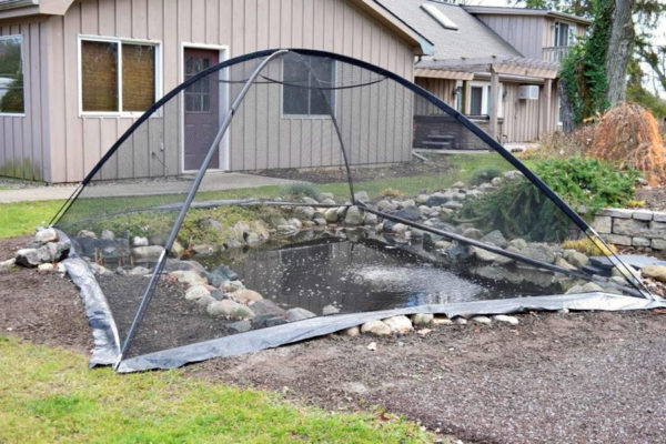 pond cover tent net