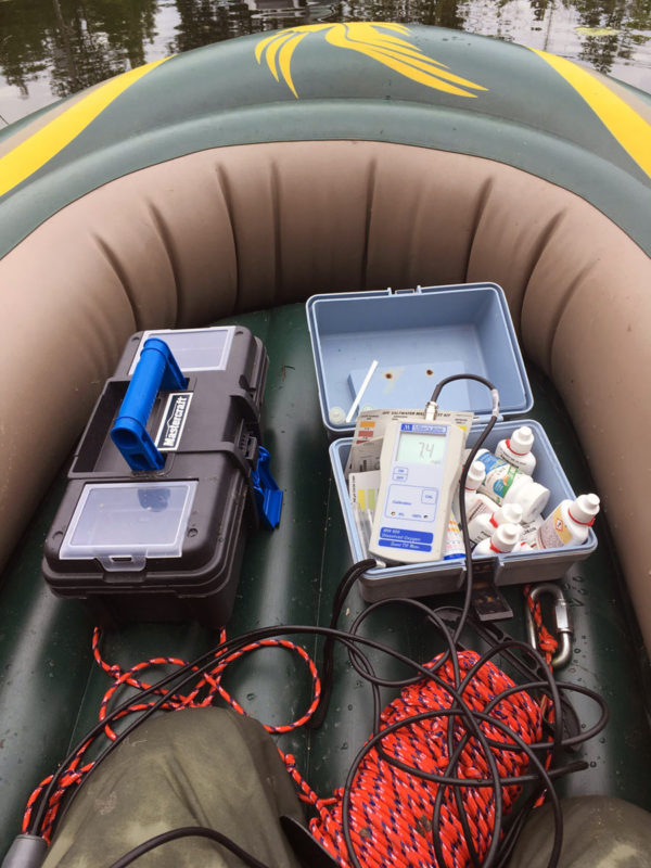 Large Pond Assessments Equipment