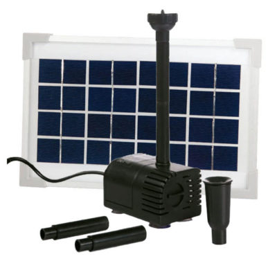 PondMax 160 GPH Solar Pond Pump Kit
